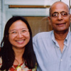 Anne Ku and Ayyub Malik, July 2002 London