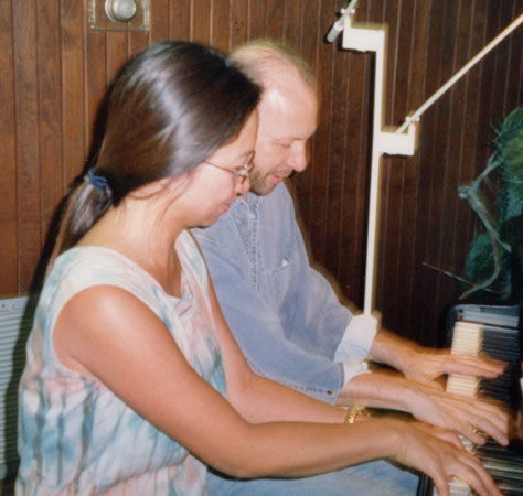 The late composer/pianist Robert Avalon, Houston (2000)